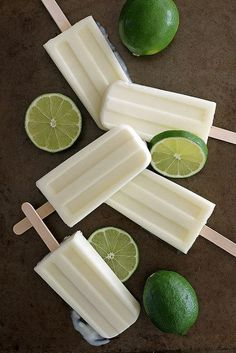 Lime Creamsicles \\ Photo and Recipe by Girl Versus Dough