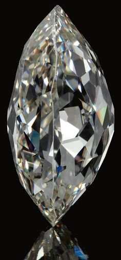 The Beau Sancy. Formerly the property of the Royal Family of Prussia, The Beau Sancy is a modified pear double rose-cut diamond weighing 34.98 carats. It is K Colour, Faint Brown, SI1 Clarity.