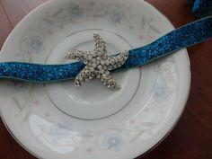 starfish belt Starfish Beach Wedding Bridal by Scarflovely on Etsy