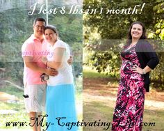 I lost 8 lbs in a month!!!