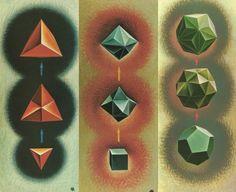 #Triakis #Tetrahedron, the Triakis #Octahedron and the Triakis #Icosahedron. by #Ugo #Adriano #Graziotti
