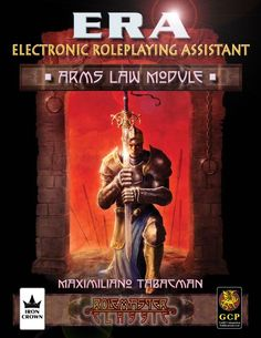 ERA for Rolemaster - RMC Arms Law module for Electronic Roleplaying Assistant e-support product from ICE