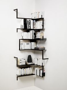 bookshelf - I need to this in my reading nook instead of ledges.