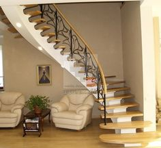 Awesome staircases make a house.