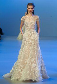 Неделя высокой моды в Париже: Elie Saab, весна 2014, Buro 24/7