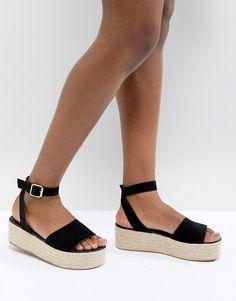 ASOS | ASOS DESIGN Thear Espadrille Flatform Sandals