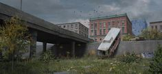 """""""Overpass"""" by Wilkerson (mutiny-in-the-air)   #SciFi #PostApocalyptic"""