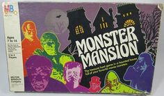 Try your luck with some of these horror and Halloween themed board games. Board game art by Scary Monsters, Famous Monsters, Retro Toys, Vintage Toys, Halloween Board Game, Game Museum, Treasure Hunt Games, Monster Toys, Mini Monster