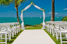 Planning a wedding? Make it a Queensland destination wedding. Coral Sea Resort, Airlie Beach #whitsundays