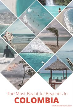 The Most Beautiful Beaches in Colombia. If you are in search of sunshine on the sands for your next Colombia visit, the following 5 beach destinations boast some of the most picturesque playas in the world. Summer- Travel