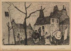 SUNRISE By Lyonel Feininger Circa 1910