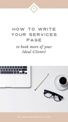 Tips for writing a strong Services page! #services #business #website