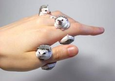 For the person who wants Martin Freeman wrapped around their finger. Click through to check out hedgehog earrings.