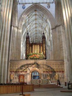 York Minster Cathedral. York, England
