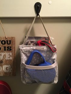Thirty One Littles Carry All to keep pet leashes and doggie bags Thirty One Uses, My Thirty One, Thirty One Gifts, Thirty One Organization, Pet Organization, Thirty One Party, Thirty One Business, Large Utility Tote, Thirty One Consultant