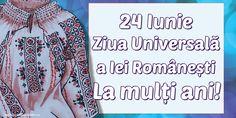 24 Iunie Ziua Universală a Iei Românești La mulți ani! Costume, Shirt Dress, Mens Tops, Shirts, Dresses, Fashion, June, Vestidos, Moda