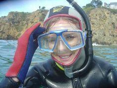 Erg Mooie Duiken Leuk 295291 Diving Suit, Scuba Diving, Scuba Girl, Snorkelling, Bicycle Helmet, Underwater, Wetsuit, Latex, Swimsuits