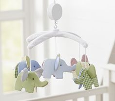 Like the idea of an elephant mobile, I wonder if I could make this?