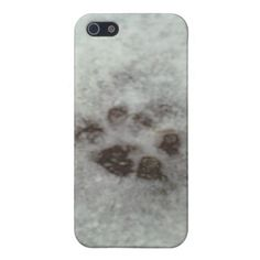 Animal tracks in the snow cases for iPhone 5