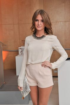 Millie Mackintosh fabulous in cream #beauteco #fashion #milliemackintosh shop millie at www.havetolove.com