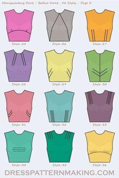 В копилку мастерицы Dress Sewing Patterns, Clothing Patterns, Skirt Patterns, Fabric Sewing, Coat Patterns, Blouse Patterns, Diy Clothing, Sewing Clothes, Barbie Clothes