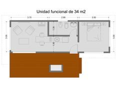 unidad 1 Home Building Design, Building A House, Restored Farmhouse, Create Space, Cabin Homes, Tiny Living, Space Saving, Ideas Para, Tiny House