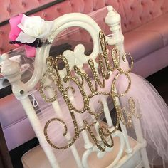 Bridal Shower Chair Sign Bride to Be Chair Sign Bridal image 4 Bridal Shower Chair, Bridal Shower Signs, Bridal Shower Decorations, Bridal Showers, Wedding Decorations, Wedding Bride, Wedding Venues, Wedding Ideas, Wedding Signs