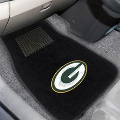 Embroidered Green Bay Packers Floor Mat Set