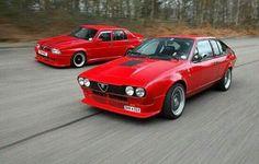 Alfa Romeo 75 GTV Passione Amore Fascino Italiano Velocità Adrenalina