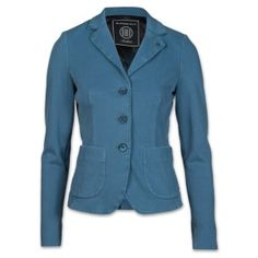 Blonde No. 8 Cannes Piquet Damen Blazer jeansblau