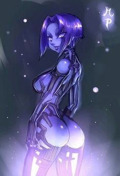Cortana anime  Halo 4