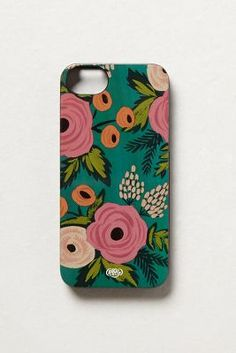Spanish Rose iPhone 5 Case #anthrofave #obsessed follow me for more!