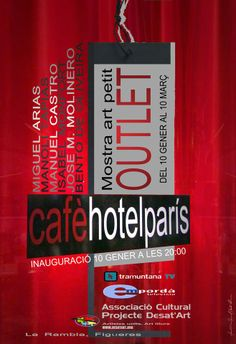 Exposicion en Cafe-hotel PARIS en Figueras - Gerona, Spain