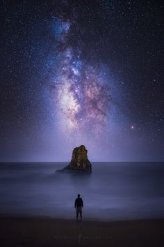 Moment of Clarity by Michael Shainblum - Taken at Davenport Beach in California.