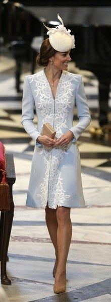 Duchess at Queen's 90th  day 2016