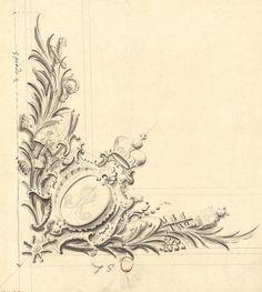 Ceiling cornice detail