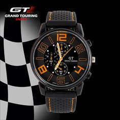 F1 Racing Sports Grand Touring GT Men s Quartz Watch Military Watches Army  Wristwatch Women Watches 109c60f046