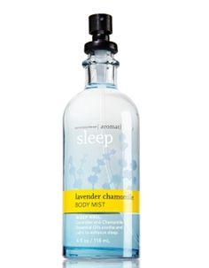 4 Insomnia-Thwarting Sleep Sprays: Bath and Body Works Sleep Spray