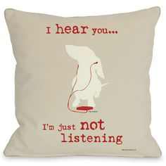 Cute Pillow for a dog lover.