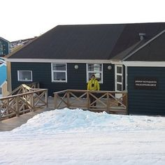 Kingdom Hall in Ilulissat, Greenland. There are 13 zealous publishers in this congregation.
