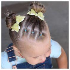 Toddler Hair Dos, Easy Toddler Hairstyles, Easy Little Girl Hairstyles, Girls Hairdos, Cute Hairstyles For Kids, Baby Girl Hairstyles, Braided Hairstyles, Twisted Hair, Little Girls