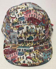 Where's Waldo Buckleback Hat 5 Panel 21 Men An American Brand One Size | eBay #americanapparel #5panelhat #5panel #hat #whereswaldo #waldo #21men