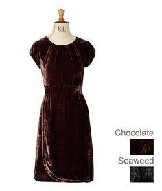 S1N03 Velvet Princess Dress : Saltwater | Autumn Winter 2012 | Individual British Design