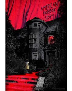 BROTHERTEDD.COM Ahs, American Horror Story Art, Movies And Series, Arte Horror, Horror Art, Scream Queens, Fan Art, Film Serie, Coven