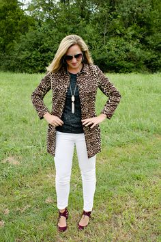Leopard, Black and White