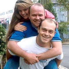Sam, Phil and Grant Mitchell