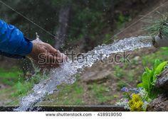 healthy natural spring water