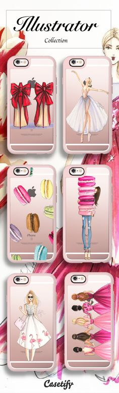 Pretty Pretty. Shop our Illustrators Phone Case Collection here: http://bit.ly/1NhFKyA | @casetify