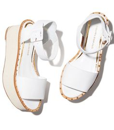 172a3631c45 Paloma Barceló Dayana Wedge Sandals White Wedge Sandals