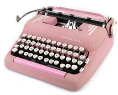 I actually owned a Brother typewriter in elementary school. I wrote children's books and letters to my grandparents with it. I used it almost every day- before my parents had a computer. I miss it! This would be a glorious and lovely birthday present :)
